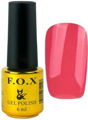 Гель-лак для нігтів FOX №141 Темно-персиковий 6 мл - 00-00008675