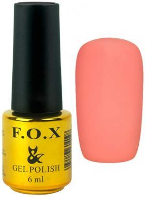 Гель-лак для нігтів FOX №142 Персиковий 6 мл - 00-00008676