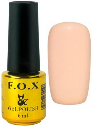 Гель-лак для нігтів FOX №154 Персиковий 6 мл - 00-00008688