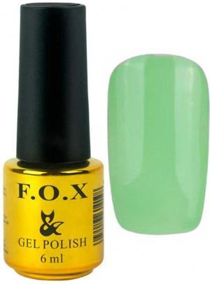 Гель-лак для нігтів FOX №156 Світло-салатовий 6 мл - 00-00008690