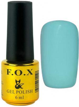 Гель-лак для нігтів FOX №158 Світло-бірюзовий 6 мл - 00-00008692