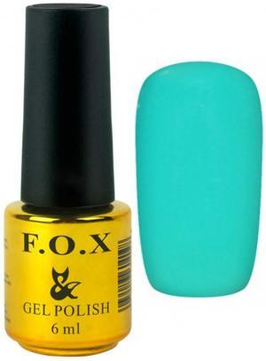 Гель-лак для нігтів FOX №159 Бірюзовий 6 мл - 00-00008693