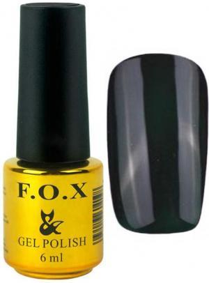 Гель-лак для нігтів FOX №161 Темно-зелений 6 мл - 00-00008695