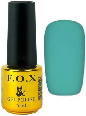 Гель-лак для нігтів FOX №162 М'ятний 6 мл - 00-00008696