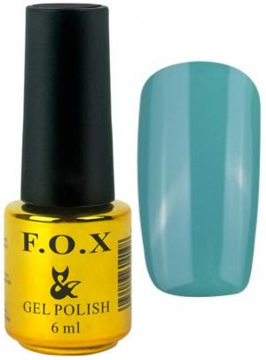 Гель-лак для нігтів FOX №165 Темно-бірюзовий 6 мл - 00-00008699