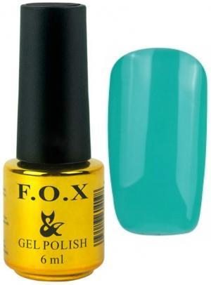 Гель-лак для нігтів FOX №167 Бірюзовий 6 мл - 00-00008701