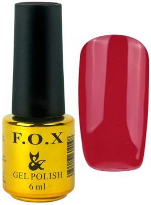 Гель-лак для нігтів FOX №179 Червоний 6 мл - 00-00008713
