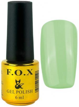 Гель-лак для нігтів FOX №184 М'ятний 6 мл - 00-00008718