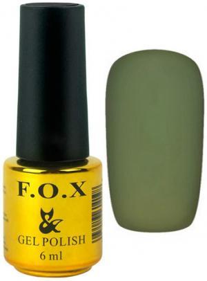 Гель-лак для нігтів FOX №186 Оливковий 6 мл - 00-00008720