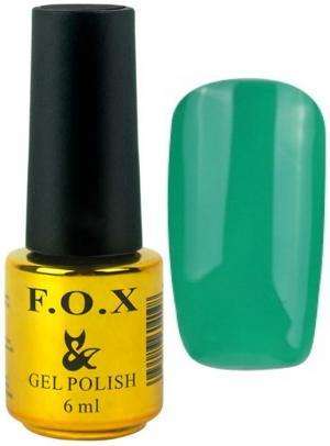 Гель-лак для нігтів FOX №187 Зелений 6 мл - 00-00008721