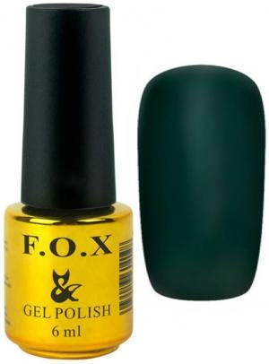 Гель-лак для нігтів FOX №188 Темно-зелений 6 мл - 00-00008722