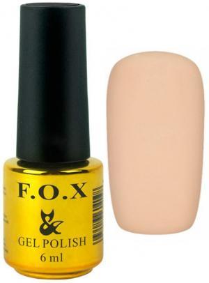 Гель-лак для нігтів FOX №195 Бежевий 6 мл - 00-00008729