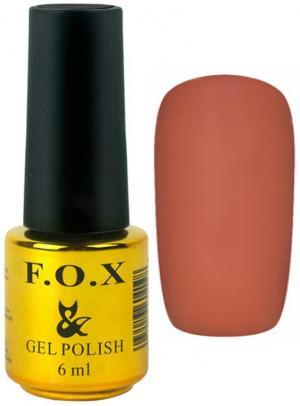 Гель-лак для нігтів FOX №196 Світло-коричневий 6 мл - 00-00008730