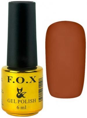 Гель-лак для нігтів FOX №198 Світло-коричневий 6 мл - 00-00008732