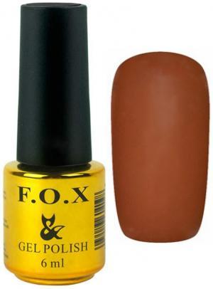 Гель-лак для нігтів FOX №199 Світло-коричневий 6 мл - 00-00008733