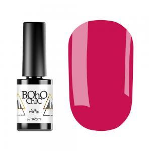 Гель-лак для нігтів Naomi Boho Chic №BC143 Щільний малиново-рожевий (емаль) 6 мл - 00-00008932