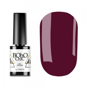Гель-лак для нігтів Naomi Boho Chic №BC150 Щільний фіолетово-ягідний (емаль) 6 мл - 00-00008939