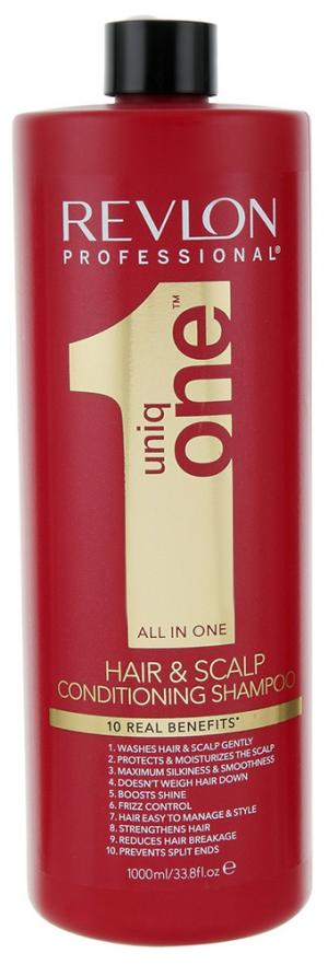 Шампунь-кондиціонер для волосся Revlon Professional Uniq One All in One 1000 мл - 00-00009116