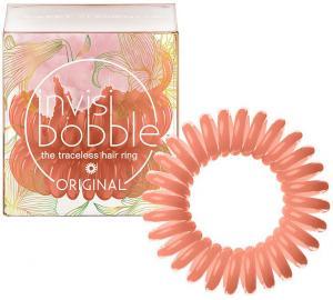 Резинки для волосся  Invisibobble коралові 3 шт - 00-00009151