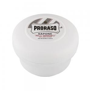 Мило для гоління для чутливої шкіри Proraso White Line 150 мл - 00-00009174