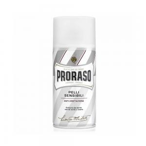 Піна для гоління для чутливої шкіри Proraso White Line 300 мл - 00-00009175