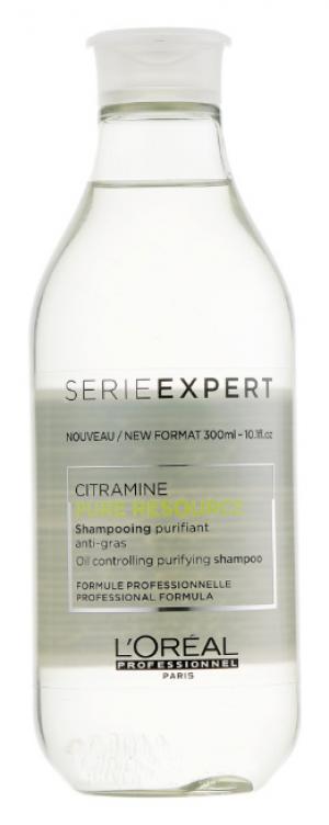 Очищающий шампунь для нормальных и жирных волос L'Oreal Professionnel Pure Resource 300 мл - 00-00009199
