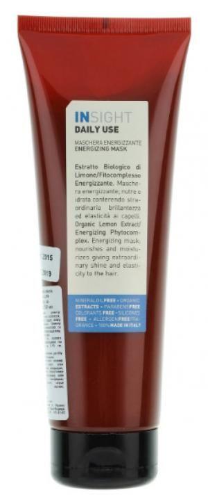 Маска енергетична для щоденного догляду за волоссям всіх типів Insight 250 мл - 00-00009394
