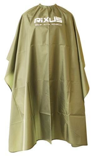 Пеньюар Rixus темно-зелений, бабочка, ТФ. гачки - 00-00009555