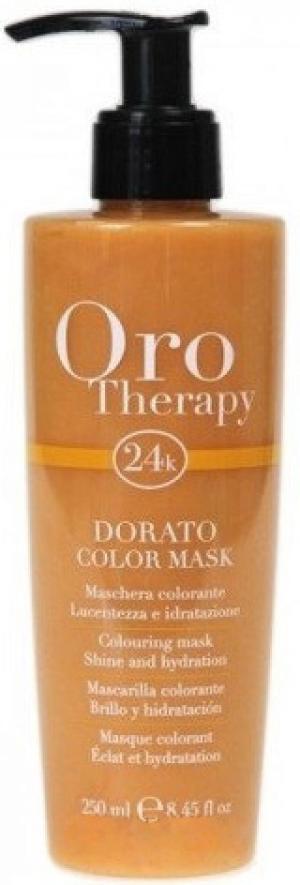 Тонуюча маска для волосся 'Золота' Fanola Oro Therapy 250 мл - 00-00009581
