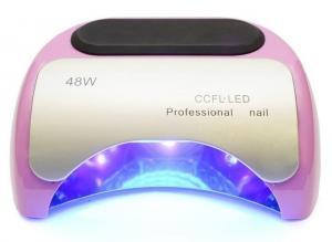 Професійна LED-лампа для полімеризації гелю CCFL рожева 48W  - 00-00009601