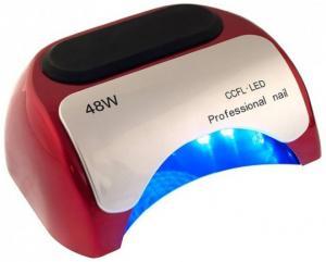 Лед-лампа для сушки гелю (з діодами) LED червона 48W - 00-00009602