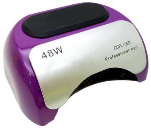 Лед-лампа для сушки гелю (з діодами) LED фіолетова 48W - 00-00009605
