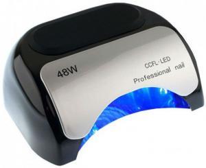 Лед-лампа для сушки гелю (з діодами) LED чорна 48W - 00-00009606