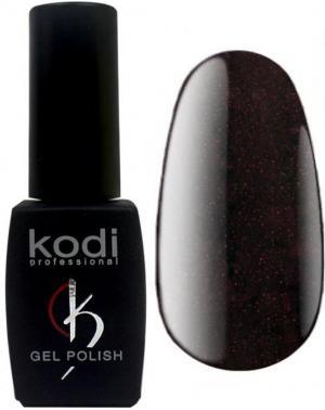 Гель-лак для нігтів Kodi Professional 'Wine' №WN110 Темний бургунді з мікроблиском (Емаль) 8 мл - 00-00009616