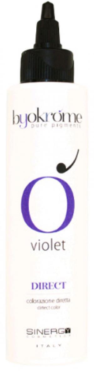 Пігментований крем Sinergy VIOLET (фіолетовий) DIRECT 150 г - 00-00009824