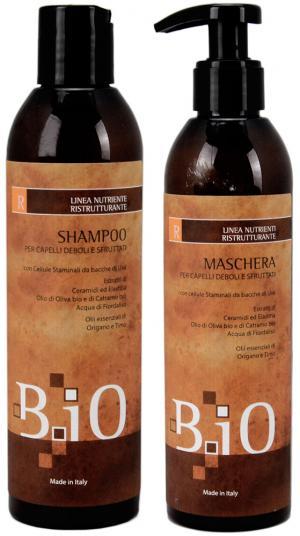Набір (шампунь+маска) для реконструкції волосся B.iO Sinergy 2*250 мл - 00-00009901