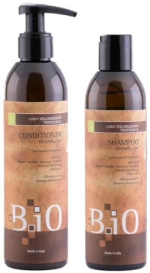 Набір (шампунь+кондиціонер) для об'єму тонкого волосся B.iO Sinergy 2*250 мл - 00-00009924
