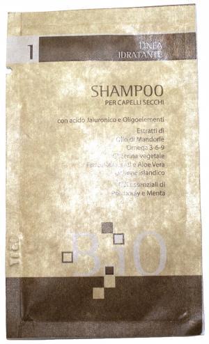Шампунь зволожуючий для сухого волосся B.iO Sinergy 10 мл - 00-00009928