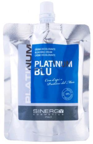 Крем висвітлюючий для волосся Sinergy 'Голубий' PLATINUM 250 г - 00-00009951