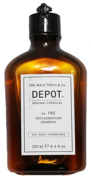 Нормалізуючий шампунь зміцнюючий проти випадіння Depot №105 250 мл - 00-00009976