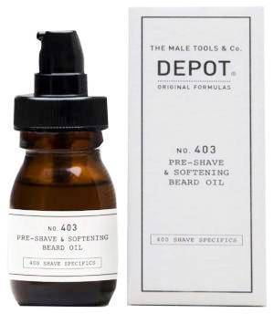 Олія пом'якшуюча для бороди Depot №403 5 мл - 00-00010088