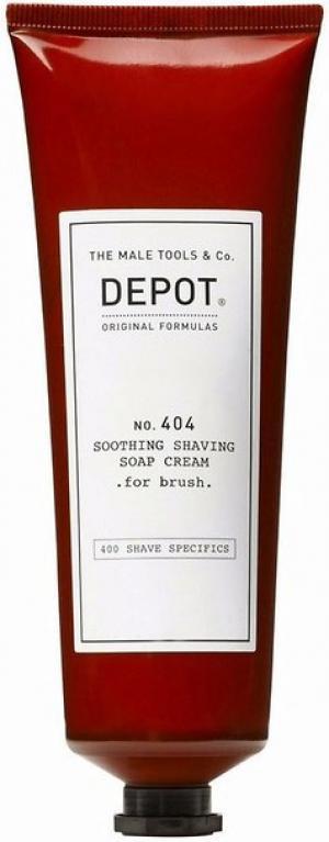 Крем заспокійливий мильний для гоління Depot №404 10 мл - 00-00010089