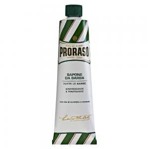 Крем для гоління з екстрактом евкаліпту та ментолом Proraso Green Line 10 мл - 00-00010574