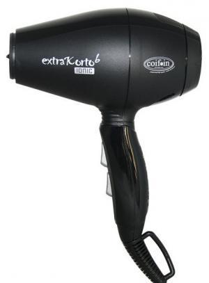 Фен для волос Coifin Extra Korto 6 Ionic черный 1800-2000W - 00-00010581