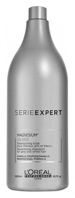 Шампунь L'Oreal Professionnel Silver Magnesium Shampoo 1500 мл - 00-00010586
