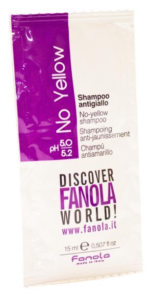 Пробник шампунь антижовтий Fanola 15 мл - 00-00010664