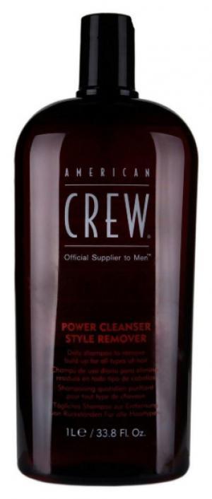 Шампунь для щоденного використання глибокого очищення American Crew Classic Power Cleanser Style 1000 мл - 00-00010714