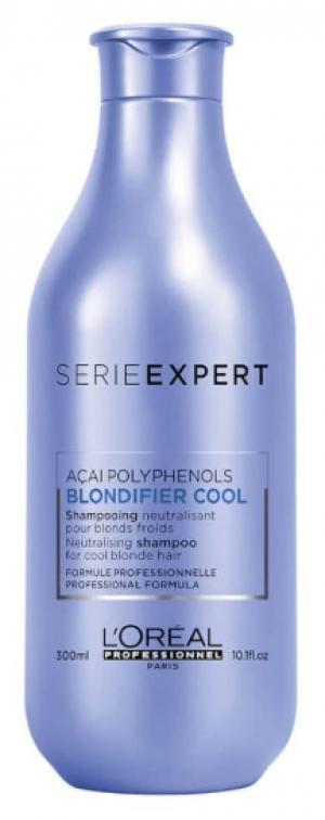 Шампунь для нейтрализации желтизны L'Oreal Professionnel Blondifier Cool Shampoo, 300 мл - 00-00010718