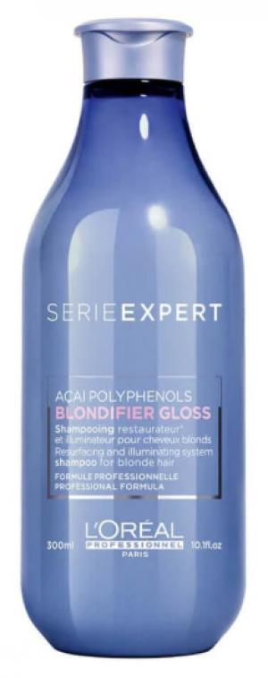 Шампунь для блеска волос L'Oreal Professionnel Blondifier Gloss Shampoo, 300 мл - 00-00010722