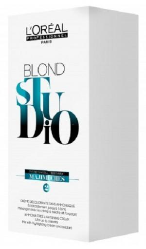 Крем для мілірування L'Oreal Professionnel Blond Studio Majimeches, 6*25 мл - 00-00010733